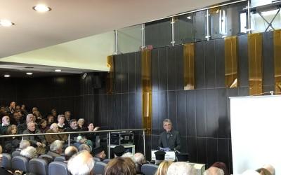 Ιδιαίτερη επιτυχία σημείωσε η εκδήλωση στη Δημητσάνα για τον Κώδικα της εκκλησίας του Αγίου Χαραλάμπους