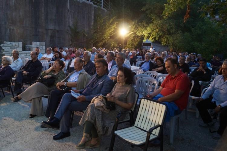 Η τελετή έναρξης των Γιορτών της Πέτρας 2018 και του 1ου Θερινού Σχολείου για την άυλη πολιτιστική κληρονομιά