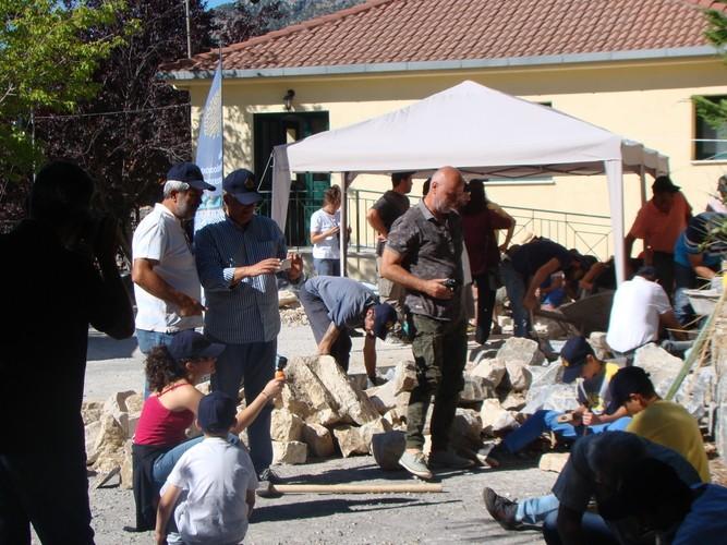 Αιτήσεις συμμετοχής για το 2ο Εργαστήρι της πέτρας έως τις 30 Ιουνίου