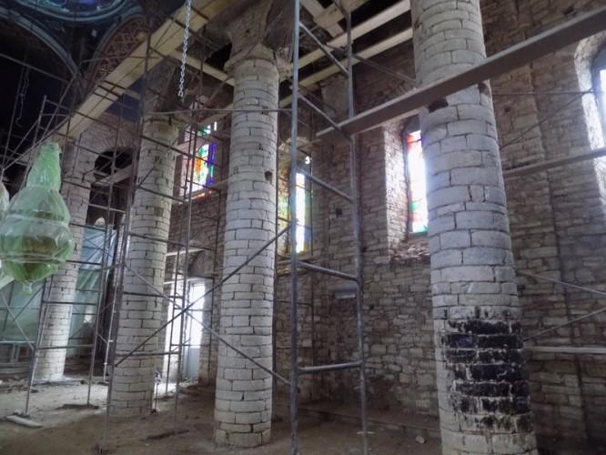 Νέες φωτογραφίες από την εκκλησία του Αγ. Νικολάου της Ν. Φιγαλείας αναδεικνύουν τη Λαγκαδινή τέχνη της πέτρας