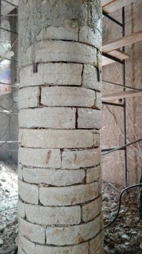 Η αποκάλυψη της ομορφιάς της Λαγκαδινής τέχνης της πέτρας εξαιτίας ενός σεισμού