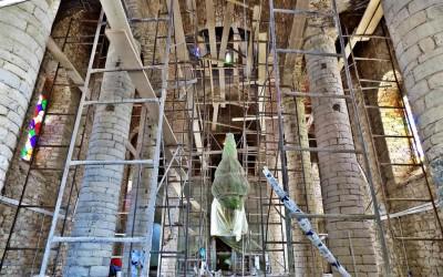 Άλλο ένα μνημείο της Λαγκαδινής τέχνης της Πέτρας αποτέλεσμα της συνεργασίας των Ανθέων της Πέτρας και του Συλλόγου Νέων Ν. Φιγαλείας.