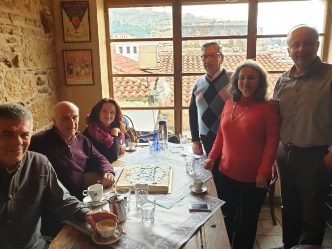Κοπή της πίτας και προγραμματισμός σημαντικών δράσεων στην πρώτη συνεδρίαση του ΔΣ των Ανθέων για το 2019