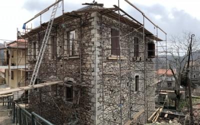 Προχωρούν τα έργα στο Ρηγοπουλέικο αρχοντικό. Σχετική επιστολή του ΔΣ των Ανθέων της Πέτρας